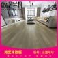 常州18mm家用���木地板�h保耐磨防�形美式�L格橡木地板�S家直�N